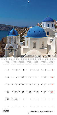 SANTORINI Caldera Views (Wall Calendar 2019 300 × 300 mm Square) - Produktdetailbild 4