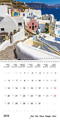 SANTORINI Caldera Views (Wall Calendar 2019 300 × 300 mm Square) - Produktdetailbild 5