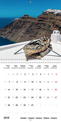 SANTORINI Caldera Views (Wall Calendar 2019 300 × 300 mm Square) - Produktdetailbild 10