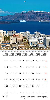 SANTORINI Caldera Views (Wall Calendar 2019 300 × 300 mm Square) - Produktdetailbild 8