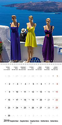 SANTORINI Caldera Views (Wall Calendar 2019 300 × 300 mm Square) - Produktdetailbild 9