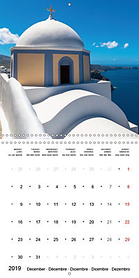 SANTORINI Caldera Views (Wall Calendar 2019 300 × 300 mm Square) - Produktdetailbild 12