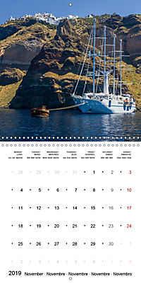 SANTORINI Caldera Views (Wall Calendar 2019 300 × 300 mm Square) - Produktdetailbild 11