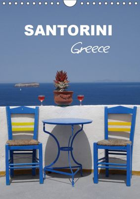 Santorini - Greece (Wall Calendar 2019 DIN A4 Portrait), Klaus-Peter Huschka