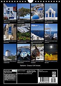 Santorini - Greece (Wall Calendar 2019 DIN A4 Portrait) - Produktdetailbild 13