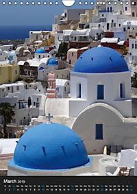 Santorini - Greece (Wall Calendar 2019 DIN A4 Portrait) - Produktdetailbild 3