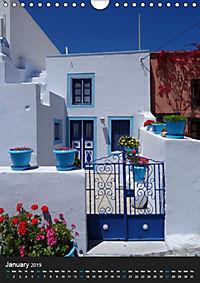 Santorini - Greece (Wall Calendar 2019 DIN A4 Portrait) - Produktdetailbild 1