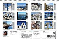 SANTORINI - Idyll auf dem Vulkan (Wandkalender 2019 DIN A3 quer) - Produktdetailbild 13