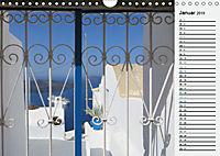 SANTORINI - Idyll auf dem Vulkan (Wandkalender 2019 DIN A4 quer) - Produktdetailbild 1