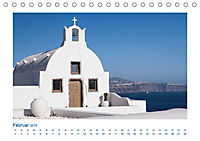 Santorini - Perle im Mittelmeer (Tischkalender 2019 DIN A5 quer) - Produktdetailbild 2