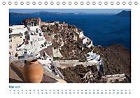 Santorini - Perle im Mittelmeer (Tischkalender 2019 DIN A5 quer) - Produktdetailbild 5