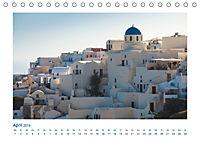 Santorini - Perle im Mittelmeer (Tischkalender 2019 DIN A5 quer) - Produktdetailbild 4