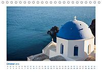 Santorini - Perle im Mittelmeer (Tischkalender 2019 DIN A5 quer) - Produktdetailbild 10