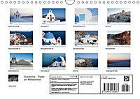 Santorini - Perle im Mittelmeer (Wandkalender 2019 DIN A4 quer) - Produktdetailbild 13