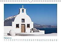 Santorini - Perle im Mittelmeer (Wandkalender 2019 DIN A4 quer) - Produktdetailbild 2