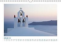 Santorini - Perle im Mittelmeer (Wandkalender 2019 DIN A4 quer) - Produktdetailbild 1