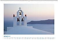 Santorini - Perle im Mittelmeer (Wandkalender 2019 DIN A2 quer) - Produktdetailbild 1