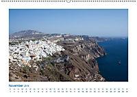 Santorini - Perle im Mittelmeer (Wandkalender 2019 DIN A2 quer) - Produktdetailbild 11