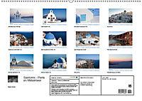 Santorini - Perle im Mittelmeer (Wandkalender 2019 DIN A2 quer) - Produktdetailbild 13