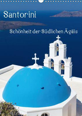 Santorini - Schönheit der Südlichen Ägäis (Wandkalender 2019 DIN A3 hoch), Thomas Klinder