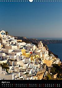 Santorini - Schönheit der Südlichen Ägäis (Wandkalender 2019 DIN A3 hoch) - Produktdetailbild 4