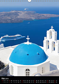 Santorini - Schönheit der Südlichen Ägäis (Wandkalender 2019 DIN A3 hoch) - Produktdetailbild 5