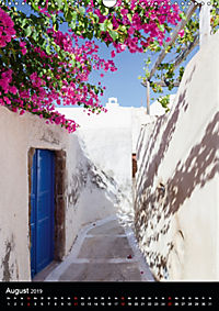 Santorini - Schönheit der Südlichen Ägäis (Wandkalender 2019 DIN A3 hoch) - Produktdetailbild 8