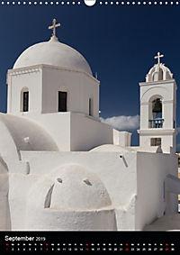 Santorini - Schönheit der Südlichen Ägäis (Wandkalender 2019 DIN A3 hoch) - Produktdetailbild 9