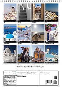 Santorini - Schönheit der Südlichen Ägäis (Wandkalender 2019 DIN A3 hoch) - Produktdetailbild 13
