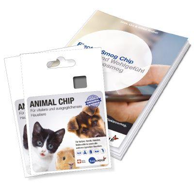 Sarandib Animal Chip 2er Set inkl. Broschüre