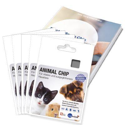 Sarandib Animal Chip 5er Set inkl. Broschüre