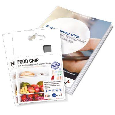 Sarandib Food Chip 2er Set inkl. Broschüre