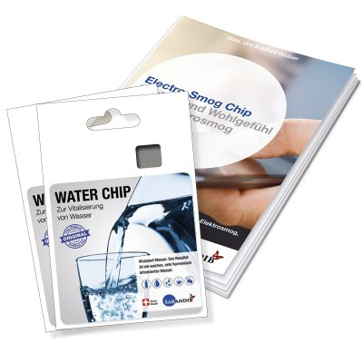Sarandib Water Chip 2er Set inkl. Broschüre
