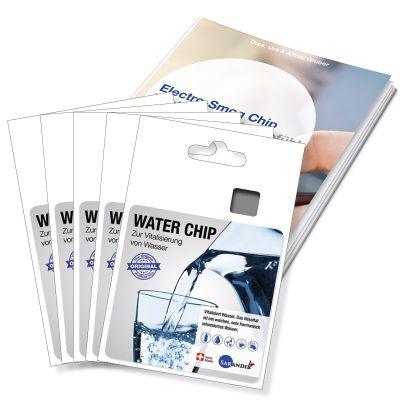 Sarandib Water Chip 5er Set inkl. Broschüre