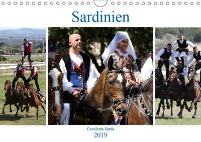 Sardinien - Cavalcata Sarda (Wandkalender 2019 DIN A4 quer), Karolin Heepmann
