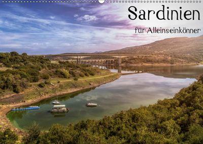 Sardinien - Für Alleinseinkönner (Wandkalender 2019 DIN A2 quer), Tom Wald