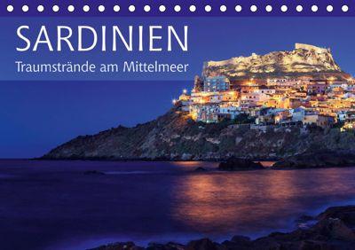 Sardinien - Traumstrände am Mittelmeer (Tischkalender 2019 DIN A5 quer), Patrick Rosyk