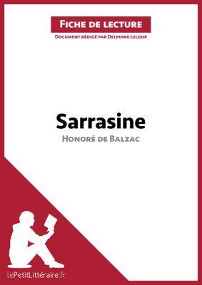 Sarrasine d'Honoré de Balzac (Fiche de lecture), lePetitLittéraire.fr, Delphine Leloup