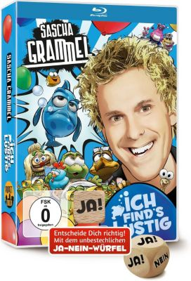 Sascha Grammel: Ich find's lustig (Blu-ray mit Ja-Nein-Würfel), Sascha Grammel