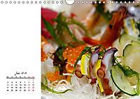 Sashimi und Sushi. Japans Köstlichkeiten (Wandkalender 2019 DIN A4 quer) - Produktdetailbild 6