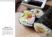 Sashimi und Sushi. Japans Köstlichkeiten (Wandkalender 2019 DIN A4 quer) - Produktdetailbild 9