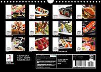 Sashimi und Sushi. Japans Köstlichkeiten (Wandkalender 2019 DIN A4 quer) - Produktdetailbild 13