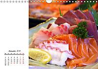 Sashimi und Sushi. Japans Köstlichkeiten (Wandkalender 2019 DIN A4 quer) - Produktdetailbild 12