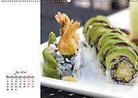 Sashimi und Sushi. Japans Köstlichkeiten (Wandkalender 2019 DIN A2 quer) - Produktdetailbild 7