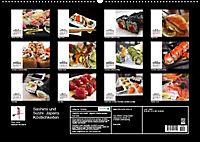 Sashimi und Sushi. Japans Köstlichkeiten (Wandkalender 2019 DIN A2 quer) - Produktdetailbild 13