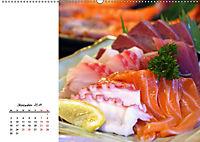 Sashimi und Sushi. Japans Köstlichkeiten (Wandkalender 2019 DIN A2 quer) - Produktdetailbild 12