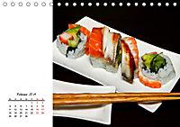 Sashimi und Sushi. Japans Köstlichkeiten (Tischkalender 2019 DIN A5 quer) - Produktdetailbild 2