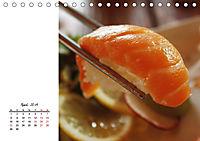 Sashimi und Sushi. Japans Köstlichkeiten (Tischkalender 2019 DIN A5 quer) - Produktdetailbild 4