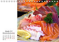 Sashimi und Sushi. Japans Köstlichkeiten (Tischkalender 2019 DIN A5 quer) - Produktdetailbild 12