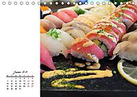 Sashimi und Sushi. Japans Köstlichkeiten (Tischkalender 2019 DIN A5 quer) - Produktdetailbild 1